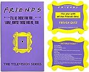Friends TV Show Merchandise Trivia Quiz Game with 100 Questions for Friends Fans
