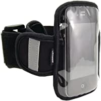 Arkon Sm-Armband Sports Armband For Iphone(R) 4 Ipod Touch(R) Htc(R) Evo 4G Blackberry(R) Motorola(R) Droid(Tm) & Other Smartphones