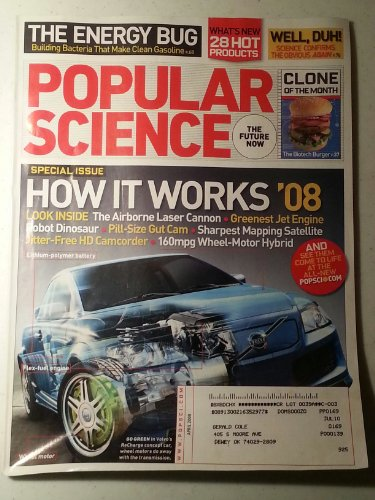 Popular Science April 2008