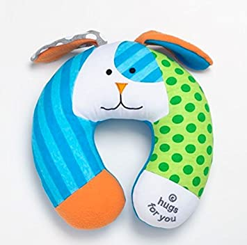 Amazon Com Britto Bebe On The Go Puppy Baby Car Seat Travel Pillow