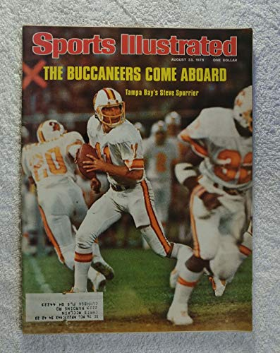 (Steve Spurrier - Tampa Bay Buccaneers - Sports Illustrated - August 23, 1976 - SI)