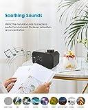 Sound Machine for Sleeping, Auto Timer, Volume