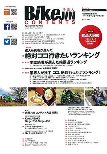 BikeJIN 2018年4月号 画像 B