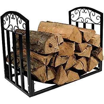 Amazon.com: Shelter SLRS Firewood Storage Log Rack, Small: Home ...