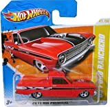 41 chevy truck - '65 FORD RANCHERO (RED) * 2010-2011 Hot Wheels #41/244 HW Premiere 41/50 1:64-scale car on SHORT CARD