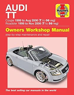 audi tt service manual 2000 2001 2002 2003 2004 2005 2006 rh amazon com audi tt service manual audi tt owners manual 2007