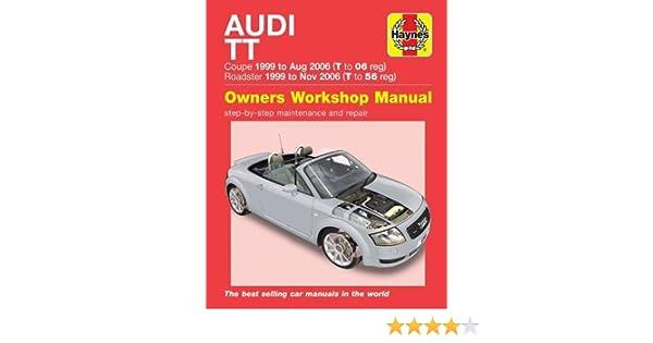 Audi TT (99 to 06) T to 56 Haynes Repair Manual: Amazon.es: Peter Gill: Libros en idiomas extranjeros
