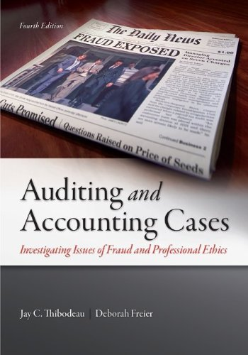 Auditing+Accounting Cases