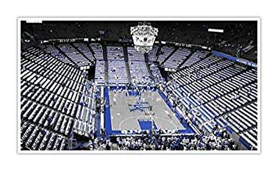 Kentucky - College Basketball Touch of Color - 30x16 Matte Poster Print Wall Art TOC