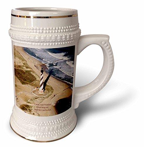 Sandy Mertens North Carolina - Cape Hatteras Lighthouse - 22oz Stein Mug (stn_55279_1)