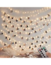 [2 Pack] Fairy String Lights, 120LED 12M/40Ft 8 Modes USB Plug in Powered Lights Waterdicht Outdoor/Indoor Koper String Lights met Afstandsbediening Timer voor Slaapkamer, Feest, Bruiloft, Kerstmis (Warm Wit)