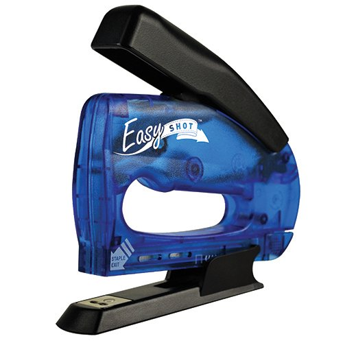 Arrow Fastener 5650DTB-6 Easyshot Multi Stapler, Blue