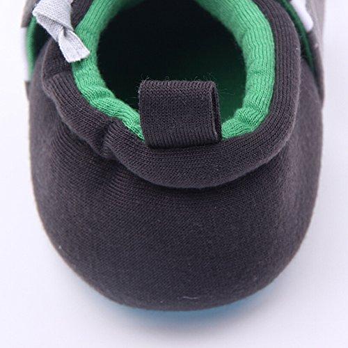 Highdas Baby-Kleinkind-Schuhe - Baumwolle / Anti-Rutsch / Anti-out / Soft Bottom Grüne Kuh