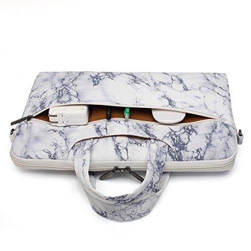 Canvaslife Marble Waterproof Laptop Shoulder Bag Case Inch 15 Briefcase 15.6 Inch