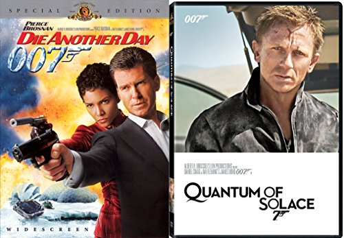 Quantum of Solace + Die Another Day Special Edition DVD & James Bond 007 Movie Set