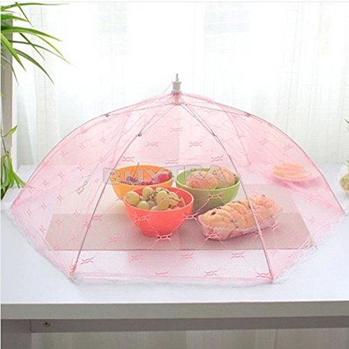 BESTIM INCUK Food Umbrella Cover Barbecue Fly Mosquito Net Tent