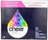 2 Pk. Cheer Powder Detergent Fresh Clean Scent 40 Loads 56 Oz (80 Loads Total)