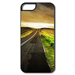 Customize Cool Safe Slide Seaside Road IPhone 5/5s Case For Team