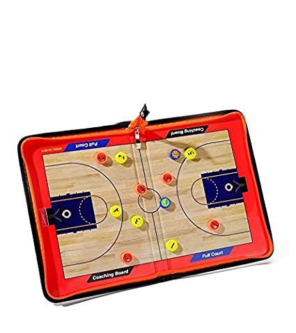 Coaches' & Referees' Gear ZXJOY Football Coach Tactical Board Coaching Magnetic Strategy Clipboard Zipper Bag With Writing Wipe Two-in-one Pen Coaches' & Referees' Gear