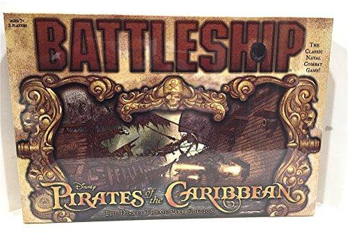 (Disney Parks Exclusive Pirates of the Caribbean Battleship Game)