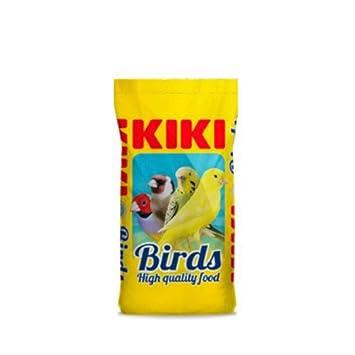 Kiki Alpiste MIXTURA para Canarios Standard VITAMINADA - Saco 25 kg: Amazon.es: Jardín