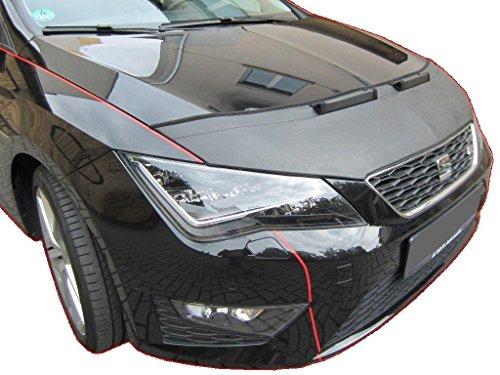 HOOD BRA PROTECTOR DEL CAPO Seat Leon 5F 2012- Bonnet Bra STONEGUARD PROTECTOR TUNING