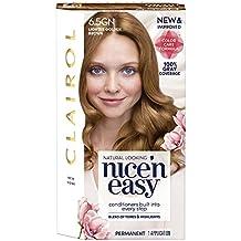 Clairol Nice 'n Easy, 6.5/115 Lightest Brown, Permanent Hair Color, 1 Kit (PACKAGING MAY VARY)