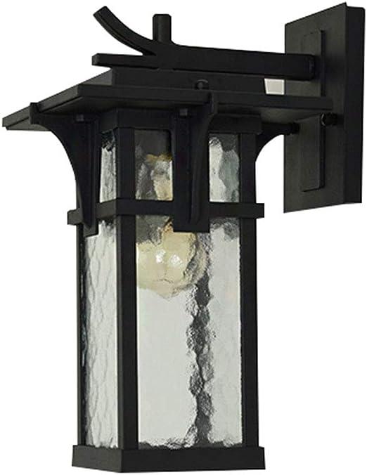 HONGOU LIGHT Retro Exterior Pared Luz Impermeable Aplique Exterior ...