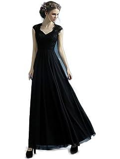 f739c1866e6e1 ロングドレス演奏会 イブニングドレス結婚式 パーティードレス 二次会 披露宴 成人式 ワンピース 黒