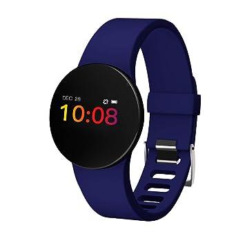 UxradG Reloj inteligente multifunción con seguimiento de la actividad física, sumergible hasta 50 metros y