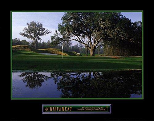 (Achievement Golf Motivational Poster)