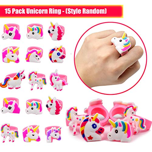 Unicorn Party Supplies 55 Pack Carnival Prize Rainbow Kids Birthday Favors