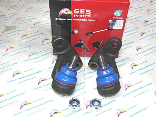 GES PARTS 01-05 BMW E46 325Xi 330Xi New 2 Front Lower Inner Ball Joints 31126756695/96