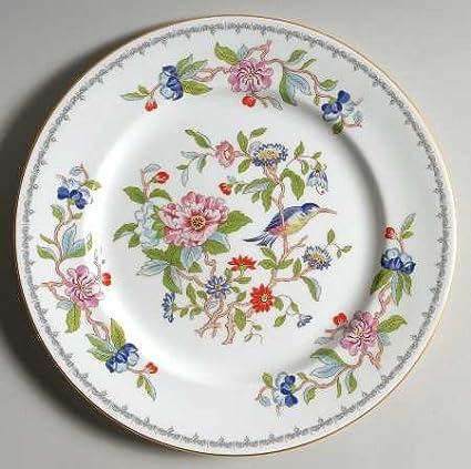 John Aynsley Pembroke-Gold Trim Dinner Plate Fine China Dinnerware & Amazon.com | John Aynsley Pembroke-Gold Trim Dinner Plate Fine ...