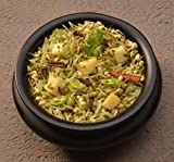 Aahanas Sprouted Mung Beans Khichdi - Gluten Free (made with Non GMO Organic Brown Basmati Rice & Organic Sprouted Mung Beans (Ayurvedic Diet)