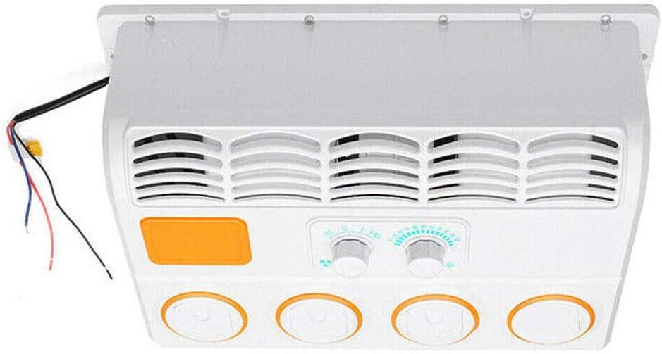 24V Acondicionadores De Aire del Coche Refrigerador De Aire Colgante Ventilador De Aire Acondicionado para Evaporador De Coche para Camiones Camper Excavador