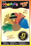 12 Thanksgiving Foamie Turkey Pins Group Project Kit - Fun for Kids & Scouts
