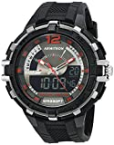 Armitron Sport Men's 20/5134BLK Analog-Digital Chronograph Black Resin Strap Watch