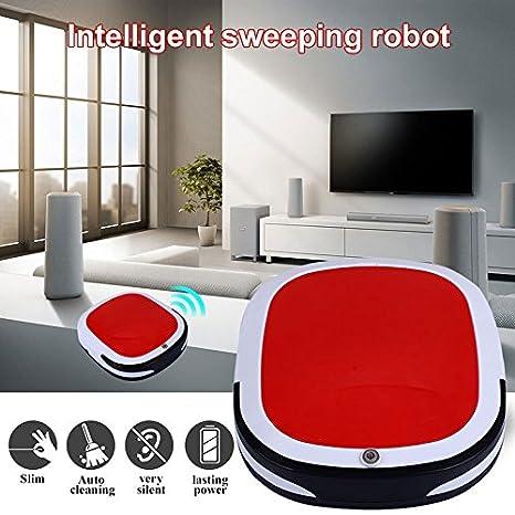 Auntwhale Nuevo Aspirador Inteligente, hogar húmedo y seco de Dos Modos Robot de Barrido, aspirado y aspirado y Limpieza de la máquina Tres en uno: ...