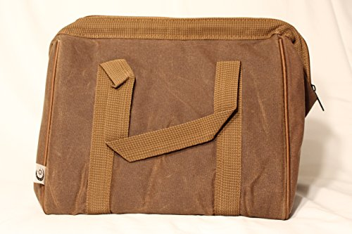 Brown Canvas Tote (Insulated Waxed Canvas Lunch Tote (Brown))