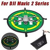 Landing Pad Apron for DJI Mavic 2 Series,WensLTD Portable UAV Landing Mat Fast-fold 50cm Landing Pad Apron for DJI Mavic 2 Series (50CM)