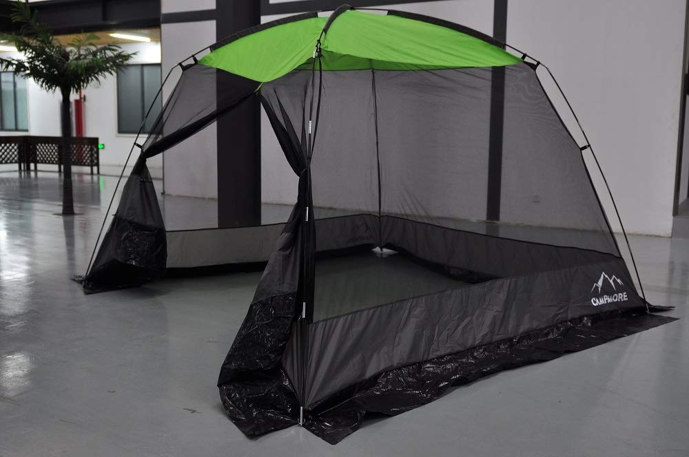CAMPMORE 10 x 10 Feet Mesh Screen House Canopy Tent for Backyard and Camping by CAMPMORE