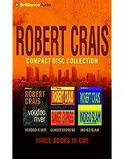 Robert Crais CD Collection 3: Voodoo River, Sunset Express, Indigo Slam