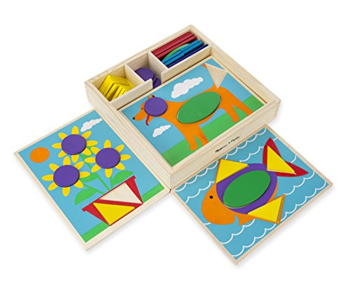 Wooden Beginner Pattern Blocks - 1