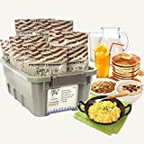 Patriot Pantry Ultimate Breakfast Kit, 138 Servings of Food for Long-Term Emergency Storage, Up to 25-Year Shelf Life, 7 Delicious Breakfast Foods
