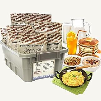 Patriot Pantry Breakfast Menu