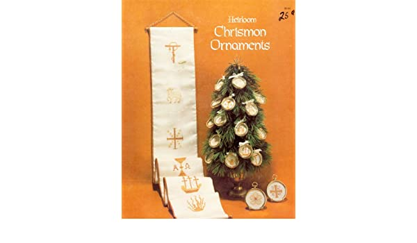 Heirloom Chrismon Ornaments Amazon Books Awesome Chrismon Patterns