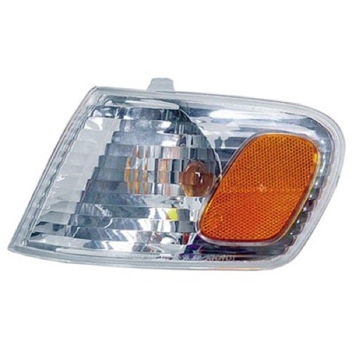 (Go-Parts » OE Replacement for 2001-2002 Toyota Corolla Turn Signal Light Assembly/Lens Cover - Front Left (Driver) Side 81520-02070 TO2530137)