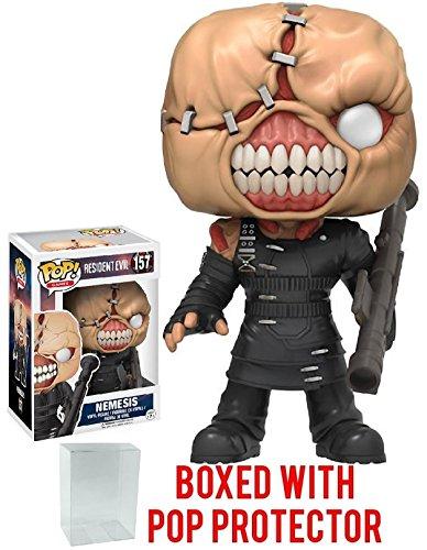 Funko Pop! Games: Resident Evil Nemesis Vinyl Figure (Includes Compatible Pop Box Protector Case)