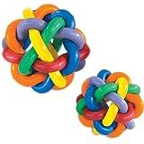 Multipet Nobbly Wobbly Ball Large Dog Toy